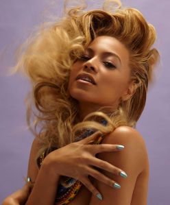 Queen B- Beyonce knowles