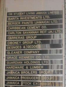 Companies that are a part of the Jamaica Stock Exchange