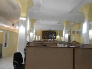 The offices at the Jamaica Stock Exchange