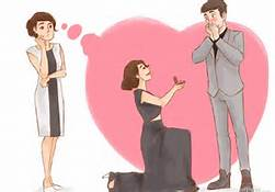woman propose